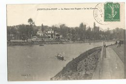 94 Joinville Le Pont La Marne Vers Nogent Le Bal Convert Animée Aviron - Joinville Le Pont