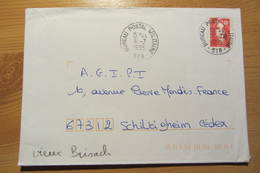 Bureau Postal Militaire 518 De VIEUX-BRISACH (Allemagne) - Postmark Collection (Covers)