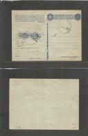Libia. 1943 (17 July) Fezzan. RF. Sebha. Italian FM Card With Pair 10c Paashi Postale, Ovptd LIBIA Tied Large Cds. Signe - Libia