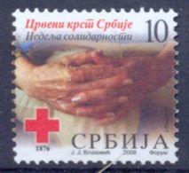 SRB 2008-ZZ20 RED CROSS SOLIDARNOST, SERBIA, 1 X 1v, MNH - Serbie