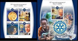 Solomon Islands 2017 Paul P. Harris, Organisations, Rotary - Islas Salomón (1978-...)