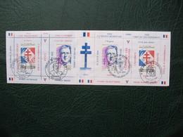 Carnet De  Timbre  Charles De Gaulle  1990 Oblitéré Vive La Liberté Et Et L'indépendance De La France - De Gaulle (General)