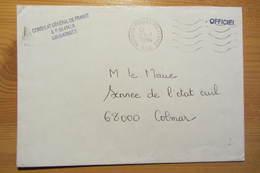 Bureau Postal Militaire 520 De LANDAU (Allemagne) - Postmark Collection (Covers)