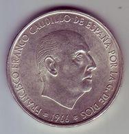 - ESPAGNE - 100 Pesetas 1966 - Argent - - [ 5] 1949-… : Royaume