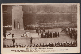 London Postcard - The Cenotaph Service, Whitehall   DC1481 - London