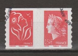 FRANCE / 2007 / Y&T N° 4109 P Ou AA 139 Ou P139 Ou P4109 : Marianne De Cheffer & TVP Lamouche - Oblitérés Cachet Rond - Francia
