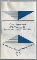Suikerwikkel - ROTTERDAM. CAFÉ RESTAURANT - PLASZICHT -. Plaszoom. - Sugars