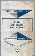 Suikerwikkel - MIDDELBURG. Hotel - DE BURG -. - Sugars
