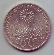- ALLEMAGNE - 10 Deutsche Mark 1972 - Jeux Olympiques De Munich - Argent - - [10] Commemorative