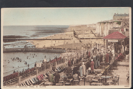 Kent Postcard - Cliftonville, Bathing Pool & Cliffs   DC1487 - England