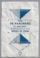 Suikerwikkel - BERGEN OP ZOOM. Café - DE RAAIJBERG -. F. SMEIJERS, Antwerpsestraat 267, Zucker. Sugar. Sucre. Suiker. - Suiker