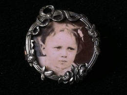 Broche Argent Silver, - Brooches
