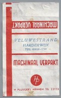 Suikerwikkel - HARDERWIJK. - VELUWESTRAND -. H. PLUIJGERS, Arnhem., Zucker. Sugar. Sucre. Suiker. - Suiker