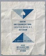 Suikerwikkel - ROTTERDAM. KANTINE AMSTERDAMSCHE BANK INCASSOBANK N.V., Zucker. Sugar. Sucre. Suiker. - Sugars
