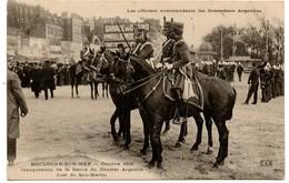 (62) BOULOGNE SUR MER.Les Officiers Commandants Les Grenadiers Argentins - Boulogne Sur Mer