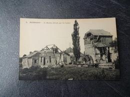 Cpa 80 Rumigny Le Moulin Detruit Par Les Boches - Autres Communes