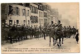 (62) BOULOGNE SUR MER:le Défilé Des Grenadiers Argentins - Boulogne Sur Mer