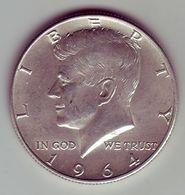 - USA - Etats Unis - Half Dollar Kennedy 1964. - Federal Issues