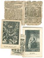 POLAND POLOGNE POLEN RELIGION 4 Andachtsbilder One Very Very Old Jesus SW ANNA - V. Mahrle / Hoffman - Andachtsbilder