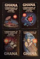 Ghana 1981 Earth Satellite Station - Ghana (1957-...)
