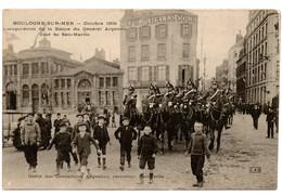 (62) BOULOGNE SUR MER: Le Défilé Des Grenadiers Argentins Carrefour Faidherbe - Boulogne Sur Mer