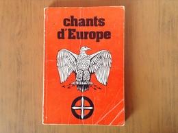 Livre Chants Militaires D'Europe. - Altri