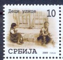SRB 2009-ZZ31 CHILDREN ON STREET, SERBIA, 1 X 1v, MNH - Serbia