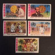 Ghana 1982 TB Bacillus Centenery - Ghana (1957-...)