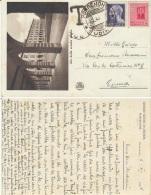 Cartolina Postale Tassata 1945 Pordenone - 1900-44 Vittorio Emanuele III