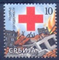 SRB 2010-ZZ37 RED CROSS SOLIDARNOST, SERBIA, 1 X 1v, MNH - Serbie