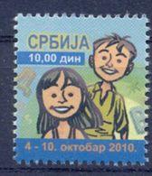 SRB 2010-ZZ38 CHILDREN WEEK, SERBIA, 1 X 1v, MNH - Serbie