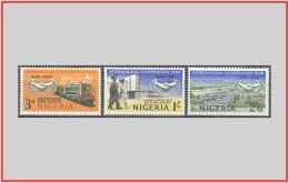Nigeria 1965 - Cat. 191/93 (MNH **) Anno Della Cooperazione - International Co-operation Year (009859) - Nigeria (1961-...)