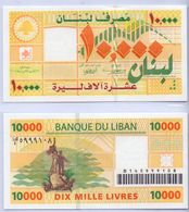 2004 Lebanon 10,000 Livres UNC (Shipping Is $ 5.55) - Lebanon