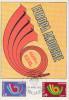 Carte  Maximum  1er  Jour   ANDORRE   Paire   EUROPA    1973 - Maximumkarten (MC)