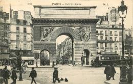 PARIS   PORTE ST MARTIN    AUTOBUS - Arrondissement: 10