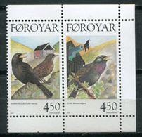 Faroe Is. 1998 Feroe / Birds MNH Vögel Aves Oiseaux / Cu6735  34-3 - Pájaros