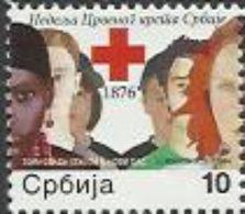 SRB 2012-ZZ49 RED CROSS, SERBIA, 1 X 1v, MNH - Serbie