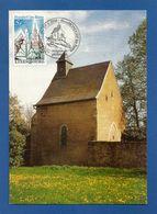 Luxemburg 1979  Mi.Nr. 985 + 697/698 , Sehenswürdigkeiten - Maximum Card - EXPHIMO' 93  Mondorf-les Bains 29-5-1993 - Maximumkarten