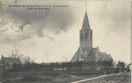 Meetkerke.   -   Gedenkenis Van Bedevaart Naar  O.L.V.   -   Zicht Van West-Kant.   -    1909  Naar   Rumbeke - Zuienkerke