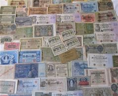 Lot With Banknotes - Coins & Banknotes