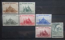 BELGIE 1938    Nr. 471 - 477   Spoor Van Scharnier *     CW  17,50 - Unused Stamps