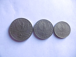 (E112)-GRECE-ANNEE 1973-LOT DE 3 PIECES 1 DRACHME, 2 DRACHMES,50 DRACHMAI - Grèce