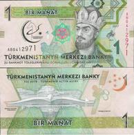 Turkmenistan 2017 - 1 Manat - Pick NEW UNC Commemorative - Turkmenistan