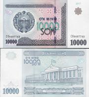 Uzbekistan 2017 - 10000 Sum - Pick NEW UNC - Uzbekistan