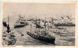 Guerre Russo-Japonaise - Types De Vaisseaux De La Flotte Japonaise - Otros