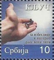 SRB 2013-ZZ56 KEY IN HAND, SERBIA, 1 X 1v, MNH - Serbien