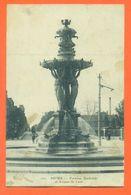 """CPA 51 Reims """" Fontaine Bartholdi Et Avenue De Laon """" LJCP 58 - Reims"""