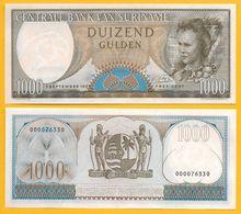 Suriname 1000 Gulden P-124 1963 UNC - Surinam