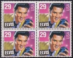 USA Sc.2772 Elvis Presley (1935-1977) 4x29c ** MNH At FACE VALUE - Elvis Presley
