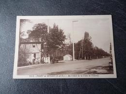 Cpa 91 Foret De Senart Au Chalet De La Croix De Villeroy - Autres Communes
